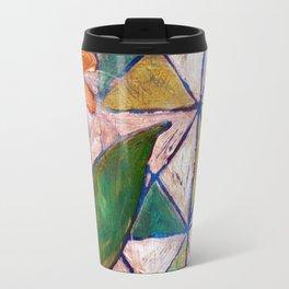 Rustic Flower Travel Mug