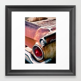 ranchero rust 2 Framed Art Print