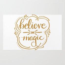 Believe in Magic Rug