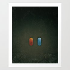 SMOOTH MINIMALISM - Matrix Art Print