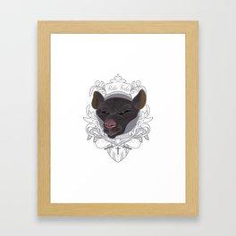 Rato Foda - Badass Rat Framed Art Print