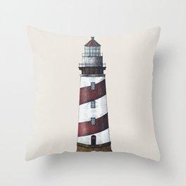 Nautical Light House Throw Pillow
