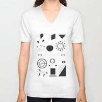ouat V-neck T-shirts featuring OUAT - A Queen by Redel Bautista