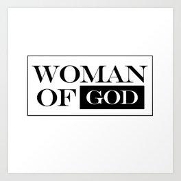 Woman of God Art Print