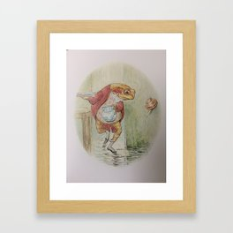 Jeremy Fisher by Beatrix Potter Framed Art Print