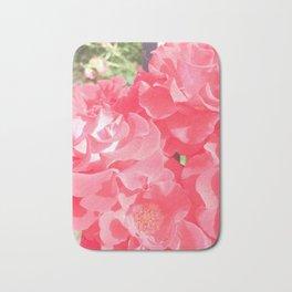 Pretty In Pink Petals Bath Mat