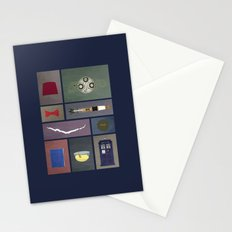 Eleven (Doctor Who) Colors Stationery Cards