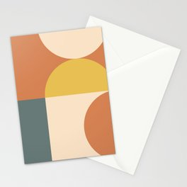 Abstract Geometric 04 Stationery Cards