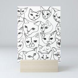 Cats! Mini Art Print