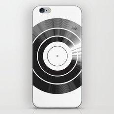 Vinyl Intentions iPhone & iPod Skin