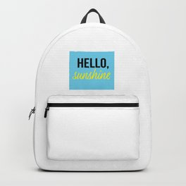Hello, Sunshine Backpack