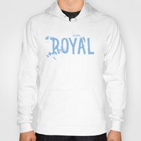 royal Hoodies featuring Royal by Black Bottle Art co.