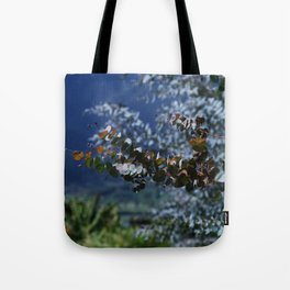 Decorative Eucalyptus Tote Bag