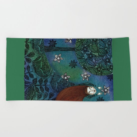 My Summer Stars Beach Towel