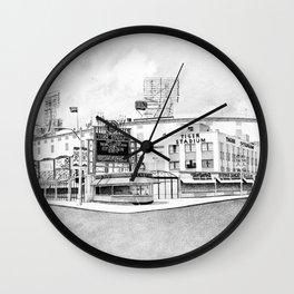 Old Tiger Stadium | Detroit Michigan Wall Clock