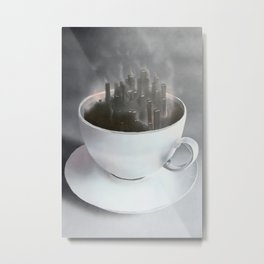 Café Dreaming Metal Print