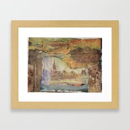 City View Framed Art Print
