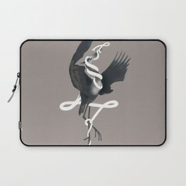 Anxiety (White Variant) Laptop Sleeve
