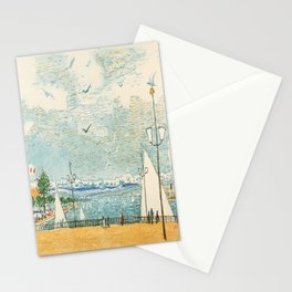 cartello la suisse orientale north east Stationery Cards