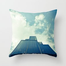 Inverted World Throw Pillow