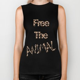 FREE THE ANIMAL - GATO Biker Tank