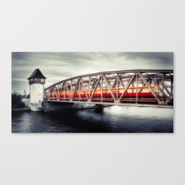 Treptow - crossing the Spree Canvas Print