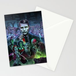 Hannibal Holocaust - They Live Return of the Living Dead Mads Mikkelsen Stationery Cards