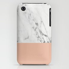 Marble and Coral Slim Case iPhone (3g, 3gs)