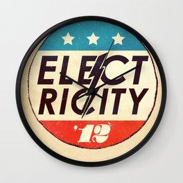 Elect Ricity Wall Clock