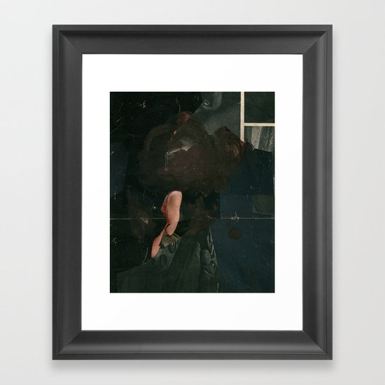 tomorrow will be different Framed Art Print