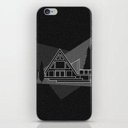 A-frame Cabin iPhone Skin