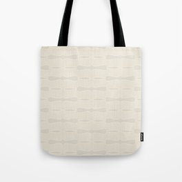 Art deco pattern - light cream - neutral Tote Bag