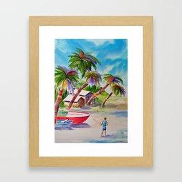 """""""Irie, Mon"""" Framed Art Print"""