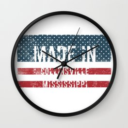 Made in Collinsville, Mississippi Wall Clock