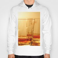 whiskey Hoodies featuring Whiskey by Vishal Wadhwani