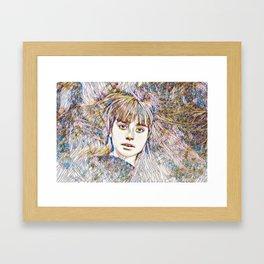 Distant Glass Framed Art Print