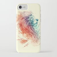 lion iPhone & iPod Cases featuring Sea Lion by Steven Toang