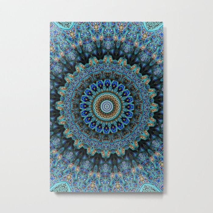 Spiral Eye Metal Print