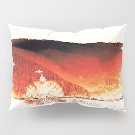Red Mountain Pillow Sham