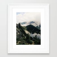 lake Framed Art Prints featuring Eunice Lake by Kevin Russ