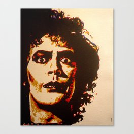 Tim Curry Canvas Print