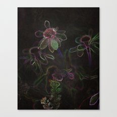 Flowers and Coffee Canvas Print