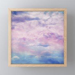 Cloud Trippin' Framed Mini Art Print