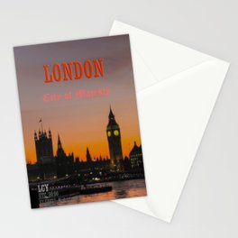 London: City of Majesty Stationery Cards