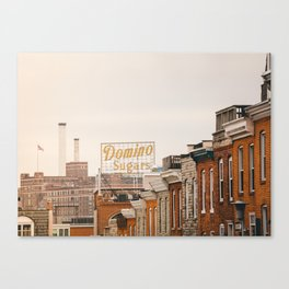 Domino Sugar - Baltimore Canvas Print