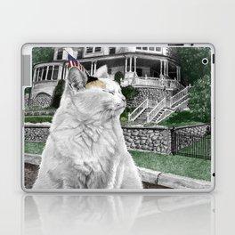 Mackinac Island Cat Laptop & iPad Skin