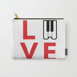 Love music #society6 #music #buyart #artprint Carry-All Pouch