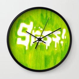 Gross! Wall Clock