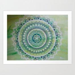 Sheer Mandala Art Print