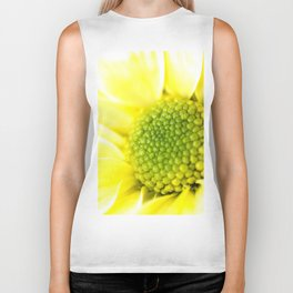 Yellow Daisy Macro Nature Photography Biker Tank